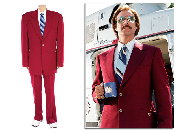 ''There's only one thing a man can do when he's suffering from a spiritual and existential funk...buy new suits.'' So said Will Ferrell's character in…