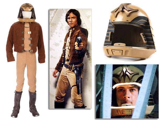 In the original TV series, the uniform of the Colonial Fleet was comprised of a tan tunic and pants, faux-chamois jacket, Egyptian-inspired helmet with interior…