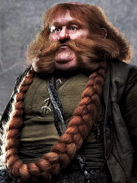 Played by Stephen Hunter Bombur's girth sets him apart, Hunter says. ''When he steps out, you know it's Bombur. There's a lot of physical stuff,…