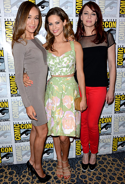 Maggie Q, Lyndsy Fonseca (in The Hellers), and Melinda Clarke