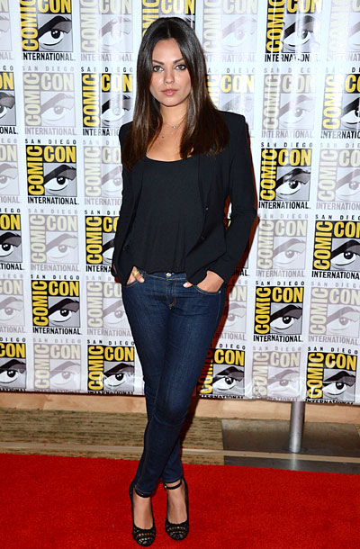 Mila Kunis, San Diego Comic-Con 2012