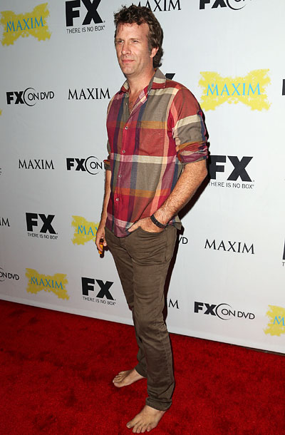 Thomas Jane at the Maxim, FX, and Fox Home Entertainment Comic-Con Party in San Diego