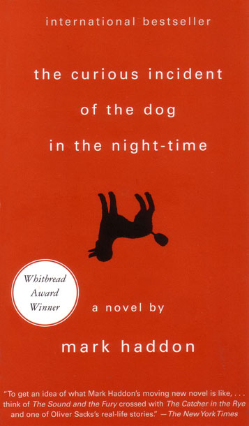 The Curious Incident of the Dog in the Night-Time, by Mark Haddon