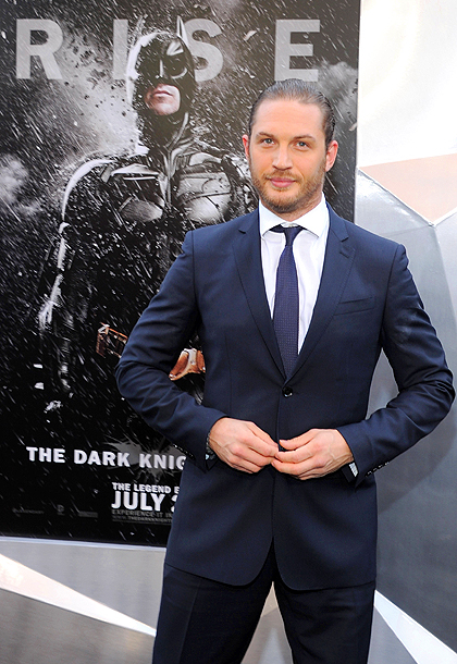 Tom Hardy, The Dark Knight Rises | ''My earliest memory is the Batman who has the rubber shark on his foot — he's kicking it. That was Batman for me.''