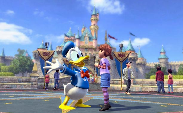 Kinect Disneyland Adventures | This controller-free, family-focused experience is as much a virtual trip to Disneyland as it is a traditional videogame. Princess- and pirate-loving fans of all ages…