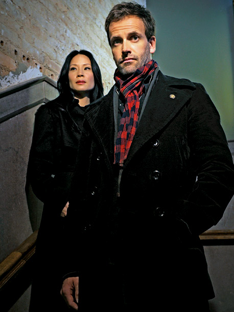 Lucy Liu, Jonny Lee Miller | How would a proper Englishman like Sherlock Holmes survive on the streets of New York? That's the question that exec producer Rob Doherty set out…