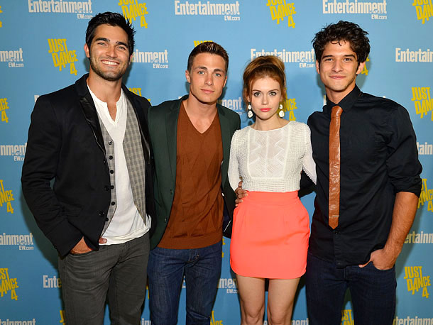 Tyler Hoechlin, Colton Haynes, Holland Roden, and Tyler Posey