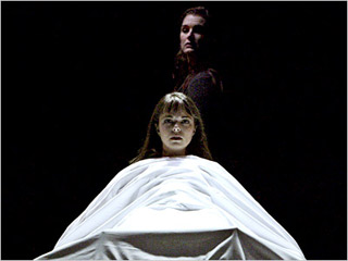 THE EXORCIST Emily Yetter and Brooke Shields