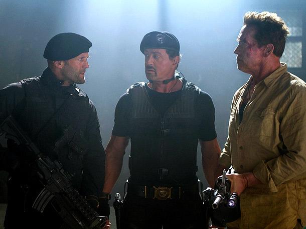 Jason Stratham, Sylvester Stallone, ...