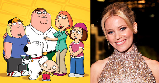 Family Guy Elizabeth Banks
