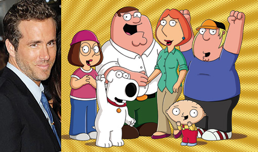 Family Guy Reynolds Split