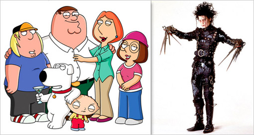 Family Guy Scissorhands 3
