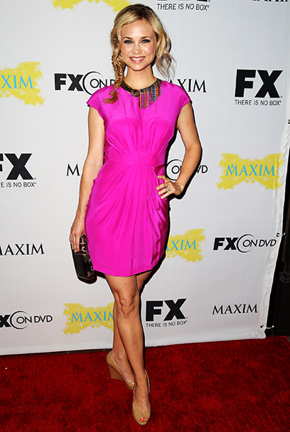 Fiona Gubblmann at the Maxim, FX, and Fox Home Entertainment Comic-Con Party in San Diego