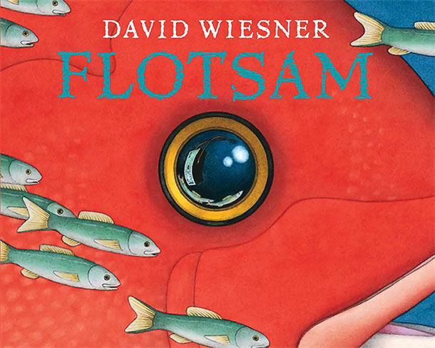 In Wiesner's wordless classic, a curious young boy examines the things that have washed up with the tide: not just skittering crabs and strands of…