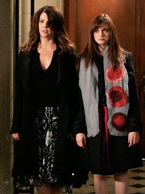 Gilmore Girls, Alexis Bledel, ... | The Ideal End: The season 6 finale, written by married showrunners Amy Sherman-Palladino and Daniel Palladino, in which Lorelai winds up in bed with baby-daddy…
