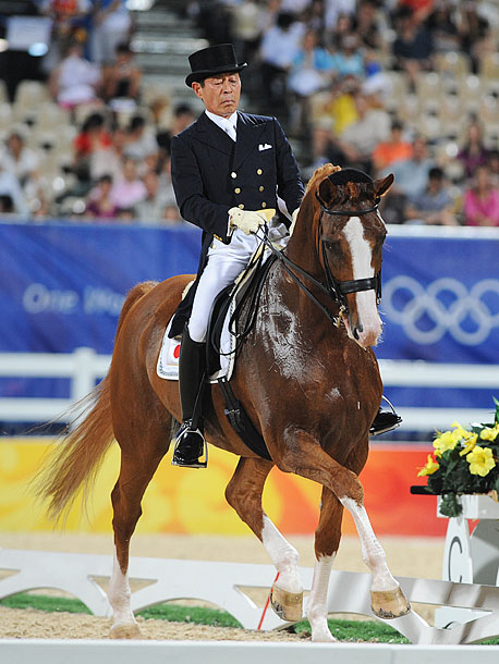Equestrian, Individual Dressage The 71-year-old Japanese equestrian, who made his Olympic debut at the 1964 Games in Tokyo, will be the oldest Olympian in London…