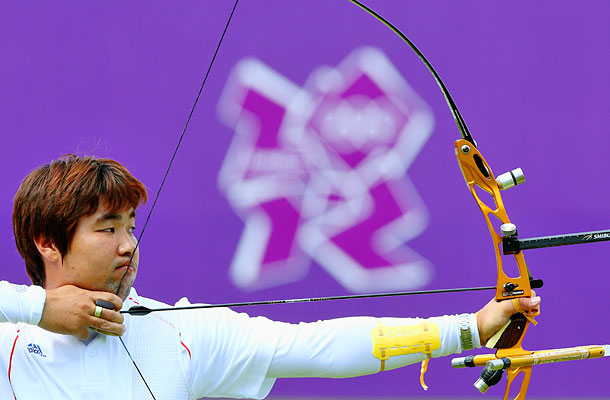 Men's Archery With two team golds already to his name, the 26-year-old South Korean archer, who is legally blind, refuses to wear corrective glasses or…
