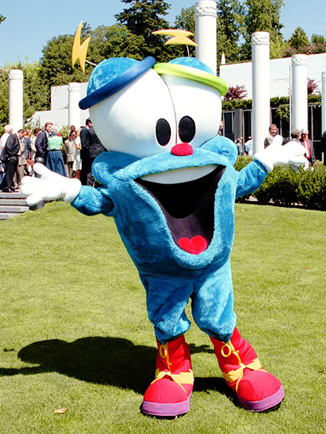 The Edsel of Olympic mascots, Izzy (short for Whatizit) was described as ''a bad marriage of the Pillsbury doughboy and the ugliest California Raisin,'' by…