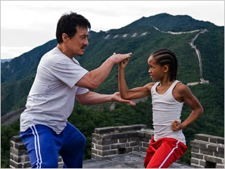 Jackie Chan, The Karate Kid | I WANT YOU TO HIT ME AS HARD AS YOU CAN Jackie Chan and Jaden Smith in The Karate Kid