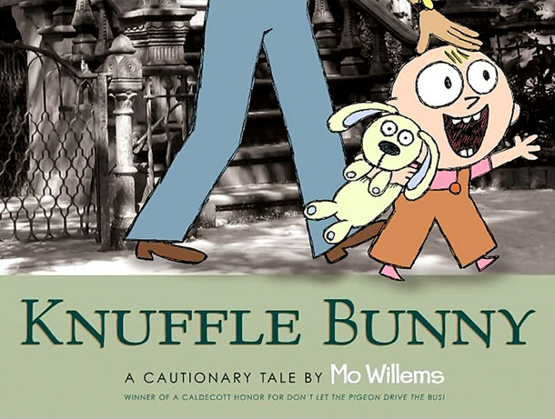 Knuffle Bunny, by Mo Willems
