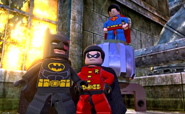 LEGO Batman 2: DC Super Heroes | Building on the successful brick-busting formula of previous Lego videogames, this super-sized, super-hero adventure features an extensive cast of iconic cape-and-cowled characters, tons of collectibles,…