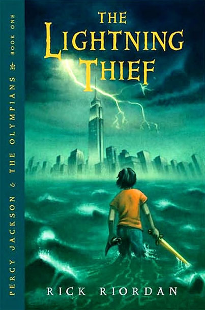 Percy Jackson and the Lightning Thief, by Rick Riordan