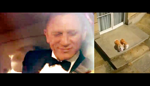 Yes, it's impressive that Danny Boyle convinced the Queen of England to participate in a James Bond short film. But you know what's even more…