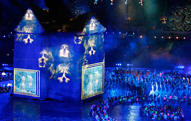 We kind of lost the plot of the whole ''Internet'' phase of the opening ceremonies: Was it about the future of Britain? Or about the…