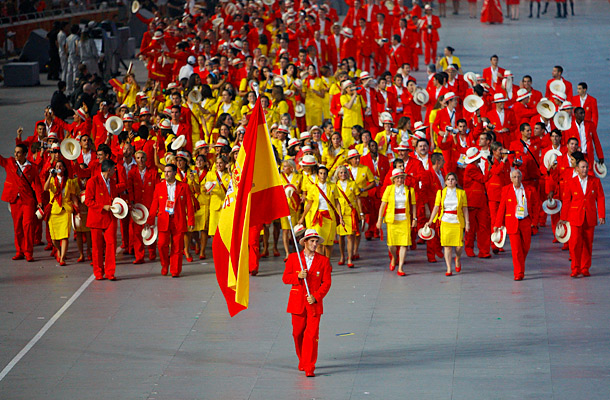 At the 2008 Summer Olympics in Beijing, Team Spain's condiment-colored uniforms were an assault on the eyes.