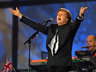 Paul Mccartney Olympics
