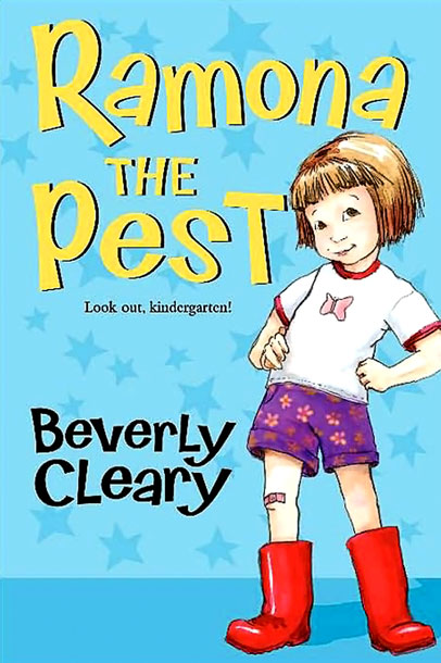 It's such a joy to follow Ramona Quimby to kindergarten. Joyful, naughty, but never bad, Ramona is an indomitable hero for the ages.