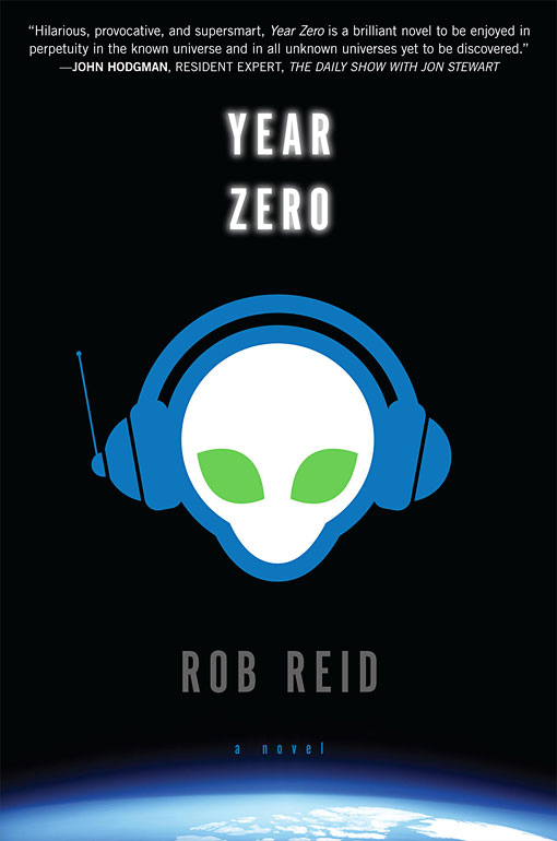 MUSIC APOCALYPSE Reid uses humor and his extensive pop culture knowledge to draw readers into a world that is being threatened by music piracy