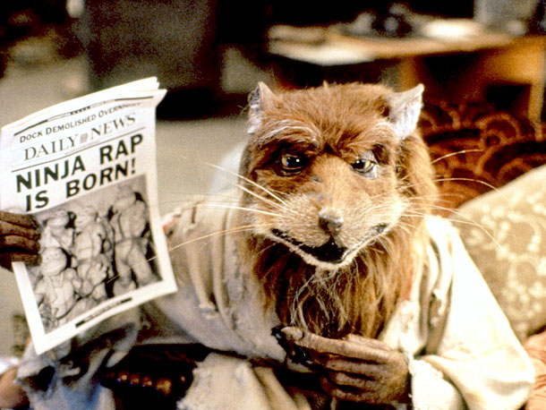 Why he was wise: Any rat clever enough to learn ninjutsu from his human master will indubitably have some knowledge to drop. As enthusiastic as…