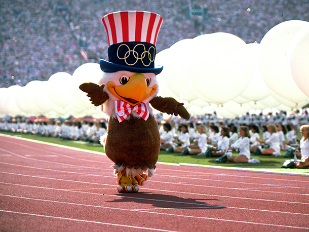 Not to be confused with The Muppets' Sam the Eagle, Sam the Olympic Eagle was a Disney creation. Perhaps that's why he resembles a patriotic…