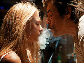 DRUGS AND DRAMA Blake Lively gets kidnapped by Benecio Del Toro in Savages