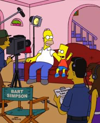 The Simpsons | The Ideal End: Aping the format of VH1's Behind the Music , the ''Behind the Laughter'' episode brilliantly portrayed the true story of The Simpsons…