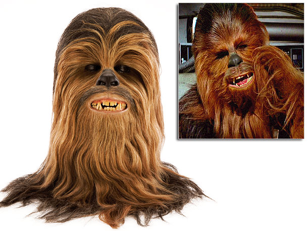 Designed by famed special effects makeup artist Stuart Freeborn, this costume headpiece helped actor Peter Mayhew bring the lovable Wookie to life. Auction estimate: $60,000…