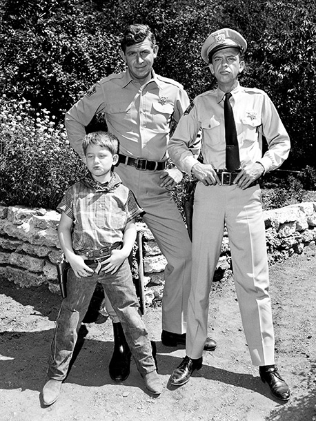 Andy Griffith | As small-town sheriff Andy Taylor, Griffith was welcomed into America's homes and cemented his place in pop culture. Whether he was doling out advice to…