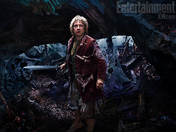 Martin Freeman | Reluctant hobbit hero Bilbo Baggins (Martin Freeman) faces giant spiders and other perils in Mirkwood Forest. ''I don't think I'm particularly hobbit-y,'' says Freeman. ''But…
