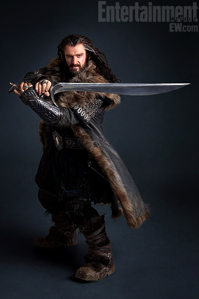 Richard Armitage plays Thorin Oakenshield, the leader of the company of dwarves, who is fiercely determined to reclaim the dwarves' kingdom. ''He has this vision…