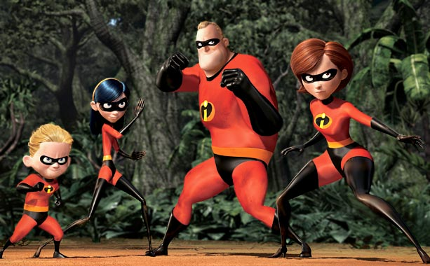 The Incredibles | The family that takes on maniacal weaponeers and giant robots together stays together. That's what ''retired'' superhero Mr. Incredible learns, anyway, as his on-the-side derring-do…
