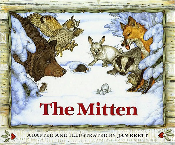 When a little Ukranian boy loses one of the mittens his Baba knit him, different animals make their home in the fluffy white wool: a…