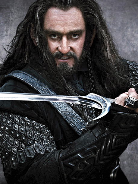 Played by Richard Armitage ''There are elements of Tolkien's description of Thorin that I'm trying to evolve,'' says Armitage. ''I'm trying to make him more…