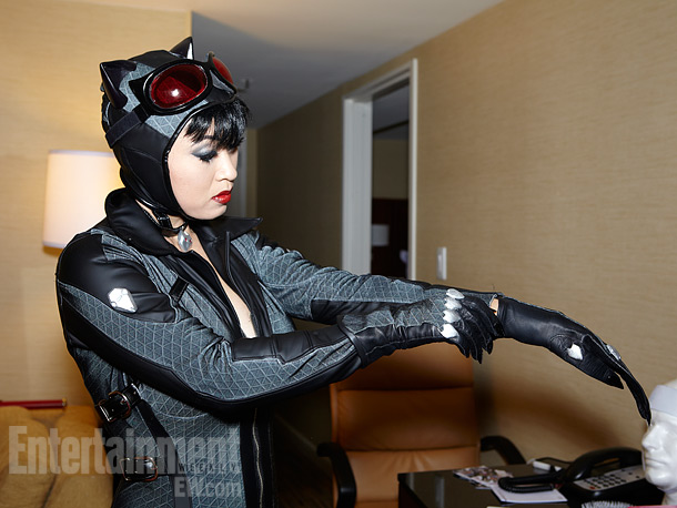 San Diego Comic-Con 2012 | Catwoman is one of more than 200 costumes Han has created.