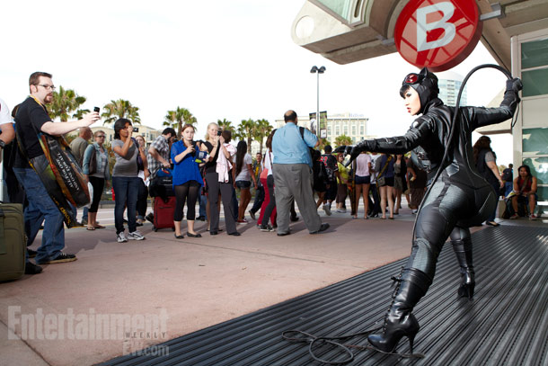 San Diego Comic-Con 2012 | Don't mess with this frisky (and fatal) feline.