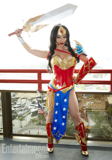 San Diego Comic-Con 2012 | ''Of all people, you know who I am...who the world needs me to be. I'm Wonder Woman.''