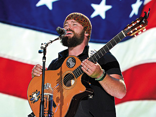 YUPPIES IN THE COUNTRYSIDE Although he claims to dislike inauthentic country fans, Zac Brown ultimately targets the yuppie demographic with Uncaged 's mind-numbing lyrics