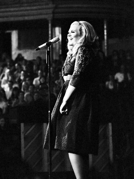 Adele | The venue and orchestra accompanying Adele are grand, but Royal Albert Hall has a sense of intimacy that plays to the singer's far-reaching appeal: Sure,…