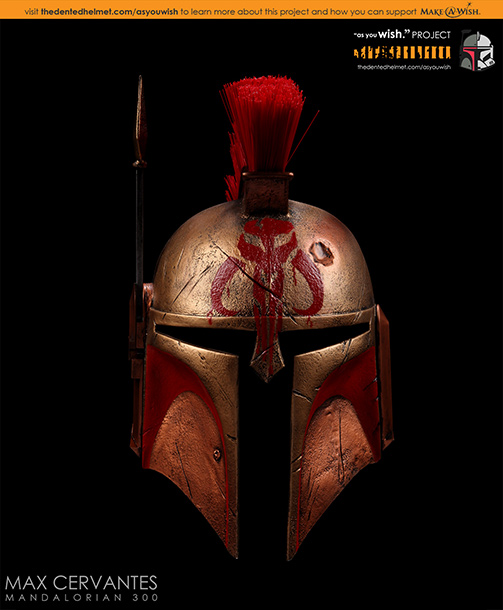 We. Are. Mandalore! Er...Sparta! Special effects artist Max Cervantes, who's contributed miniature models for Beetlejuice , Star Trek: The Next Generation , Star Trek: Deep…