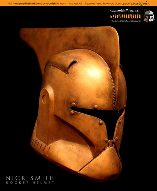 More Joe Johnston! In tribute to the director's retro actioner The Rocketeer , artist Nicholas Smith contributes a particularly aerodynamic helmet complete with directional fin.…
